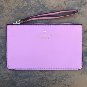 NWT Lavender Kate Spade Wristlet Wallet